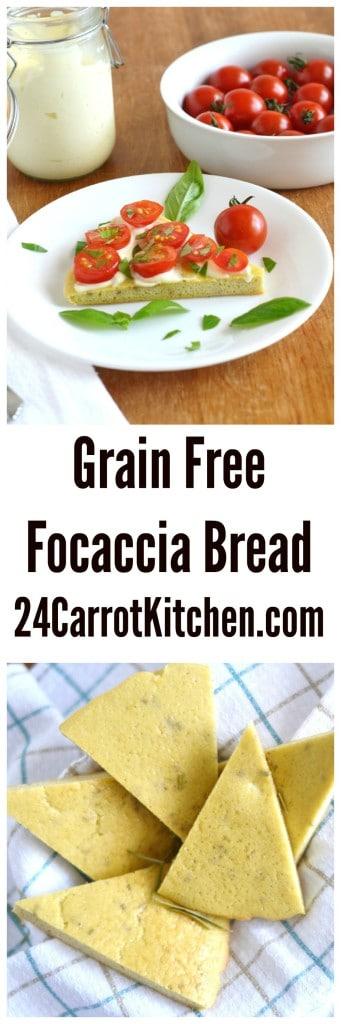 Grain Free Focaccia Bread