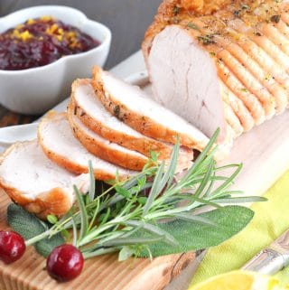 boneless turkey breast slices.