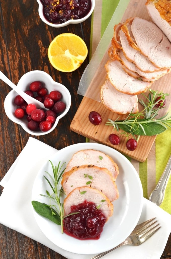 Herb Roasted Boneless Turkey Breast