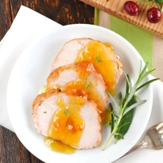 Herb Roasted Turkey Breast with Peach Glaze Recipe