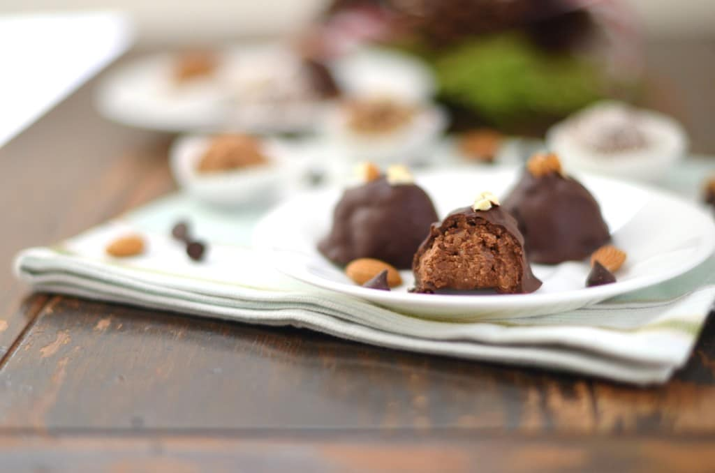 Paleo, Vegan, Coconut, Dark Chocolate Truffles - 24 Carrot Kitchen