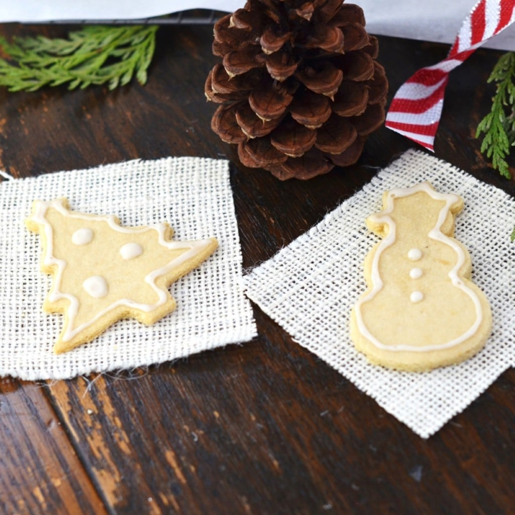 Grain-Free Cookie Cutter Sugar Cookies - 24 Carrot Kitchen