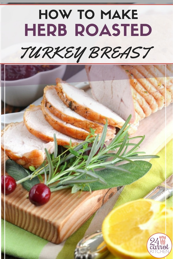 Make this super simple turkey breast for lunch, dinner or the holidays!  Just a few ingredients are needed to make this super simple recipe!  #Paleo #paleodinners #paleoentrees #gluten-free #dairy-free #grain-free #turkey