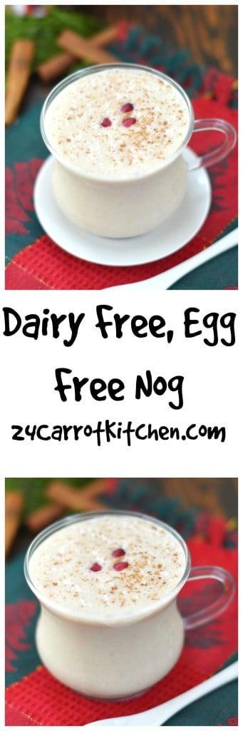Dairy Free, Egg Free Nog - 24 Carrot Kitchen