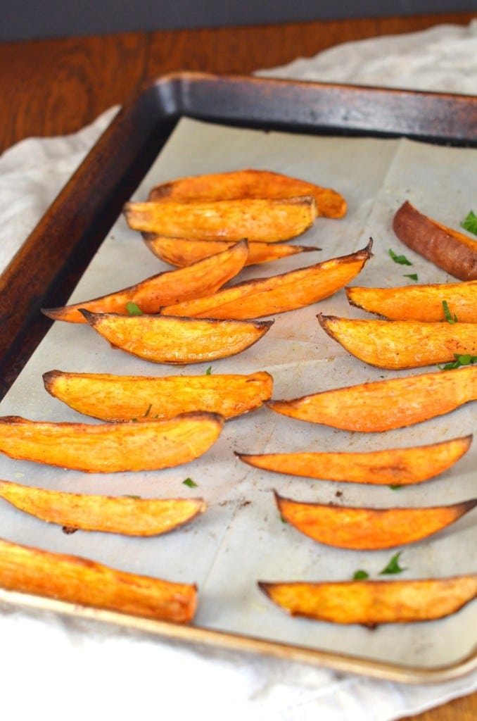 Oven Roasted Sweet Potatoes - 24 Carrot Kitchen