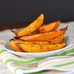 Oven Roasted Sweet Potato Wedges - 24 Carrot Kitchen