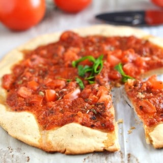 Awesome and Crispy Gluten-Free Pizza Crust!