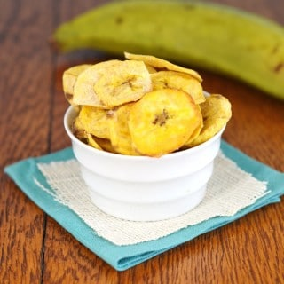 Crispy and Crunchy Paleo Plantain Chips - 24 Carrot Kitchen
