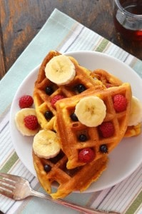 Crispy Grain Free Waffles - 24 Carrot Kitchen