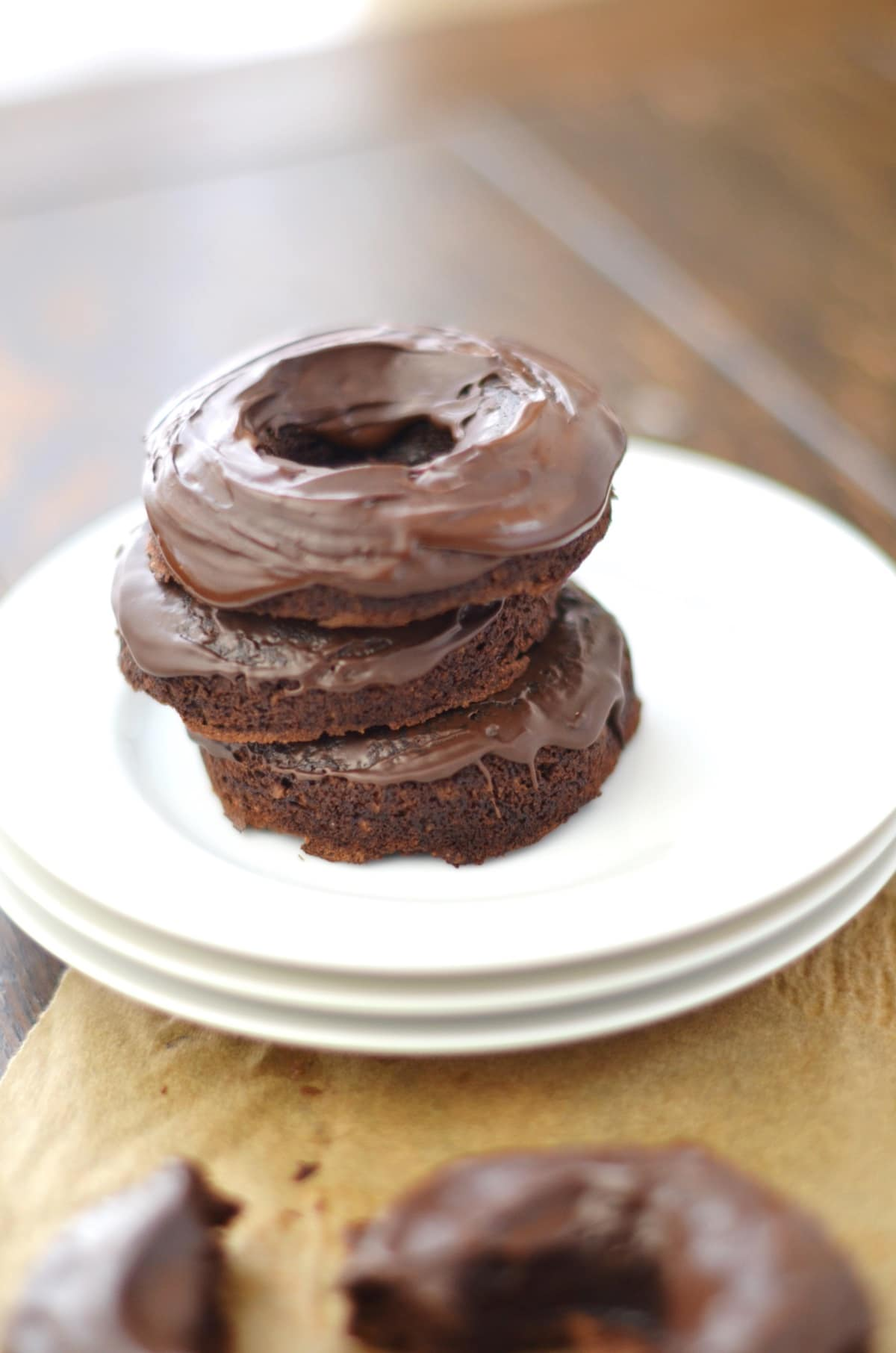 Coconut Flour Chocolate Glazed Donuts - 24 Carrot Kitchen - 24 Carrot ...