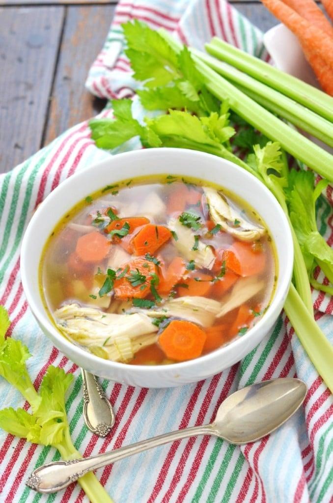 Chicken Gluten Free Soup - 24 Carrot Kitchen