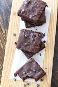 Fudgy Sweet Potato Brownies - 24 Carrot Kitchen