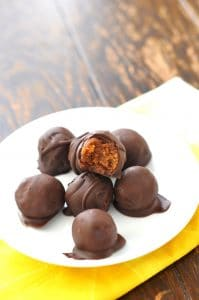 Sweet Potato Pumpkin Spice Truffles - 24 Carrot Kitchen