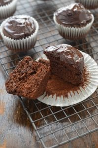 Paleo Chocolate Cupcakes with Ganache-24 Carrot Kitchen