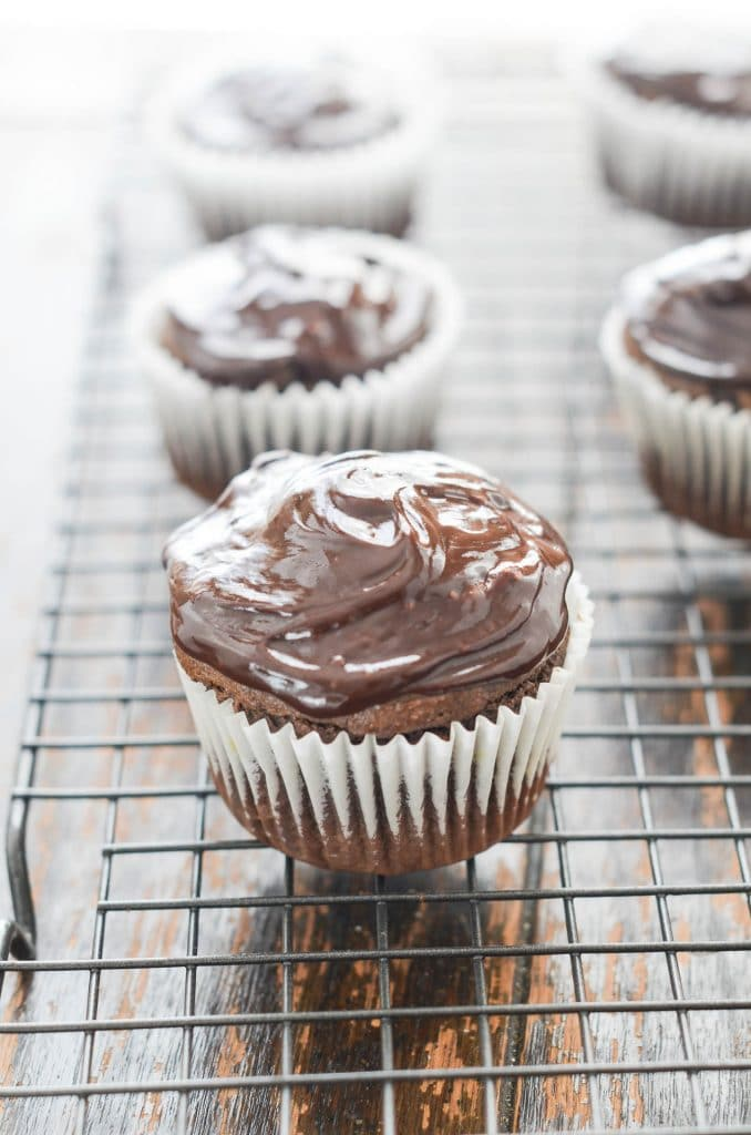 Gluten Free Chocolate Cupcakes - 24 Carrot Kitchen