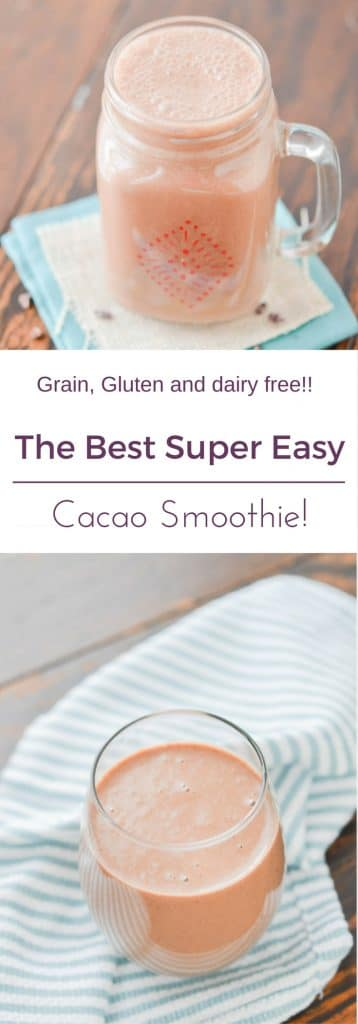 Cacao Smoothie PIN - 24 Carrot Kitchen