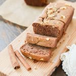 Flourless Banana Bread sliced - 24 Carrot Kitchen