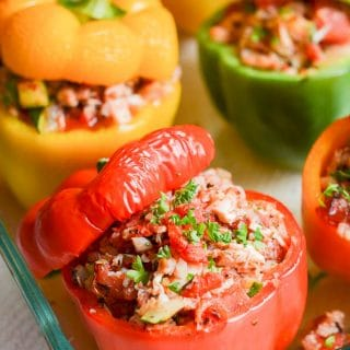 How To Make Amazing Paleo Stuffed Peppers!
