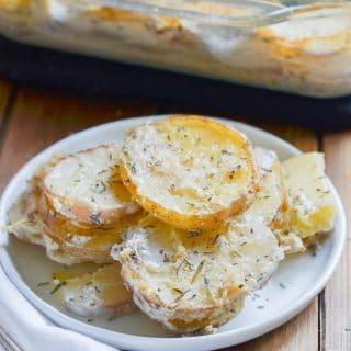 How To Make Vegan Scalloped Potatoes!