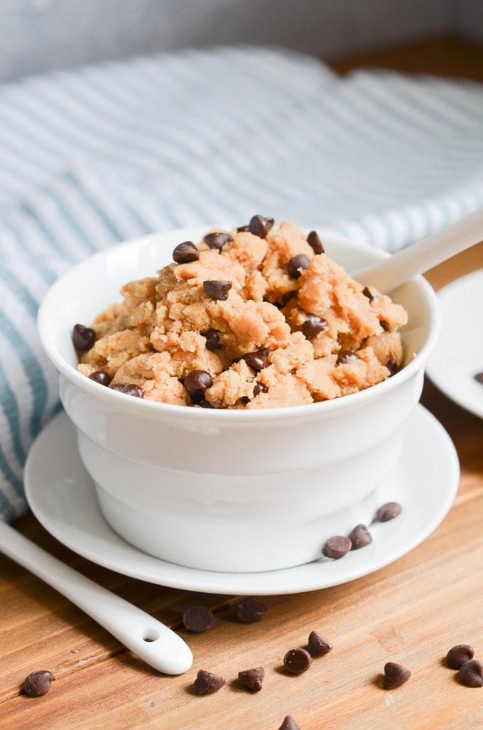 Edible Cookie Dough Nut Free Eggless Gluten Free 24